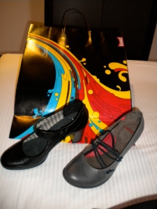 My souvenirs from Barcelona in 2009: SHOES!