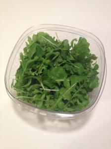 February 6, 2013 salad harvest