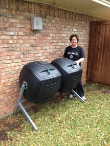 My birthday composter